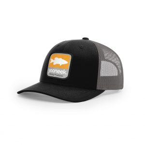 Bass Square Patch Hat - Black/Charcoal